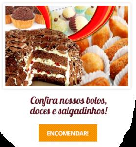Confira nossos bolos, doces e salgadinhos na Padaria Mooca