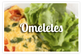 Omeletes na Padaria Mooca