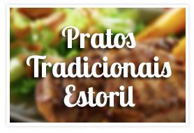Pratos Tradicionais Estoril na Padaria Rua da Mooca