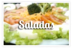 Saladas na Padaria Mooca