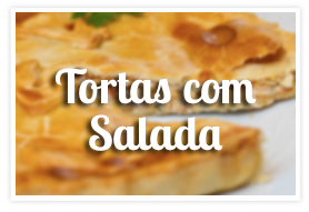 Tortas com Salada na Padaria Mooca