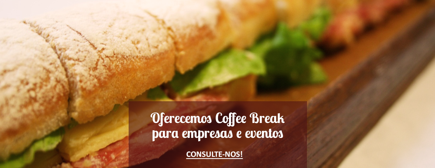 Coffe Break na Padaria Delivery Mooca